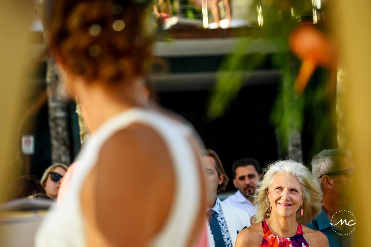 Blue Diamond Riviera Maya Beach Wedding in Mexico. Martina Campolo Photography
