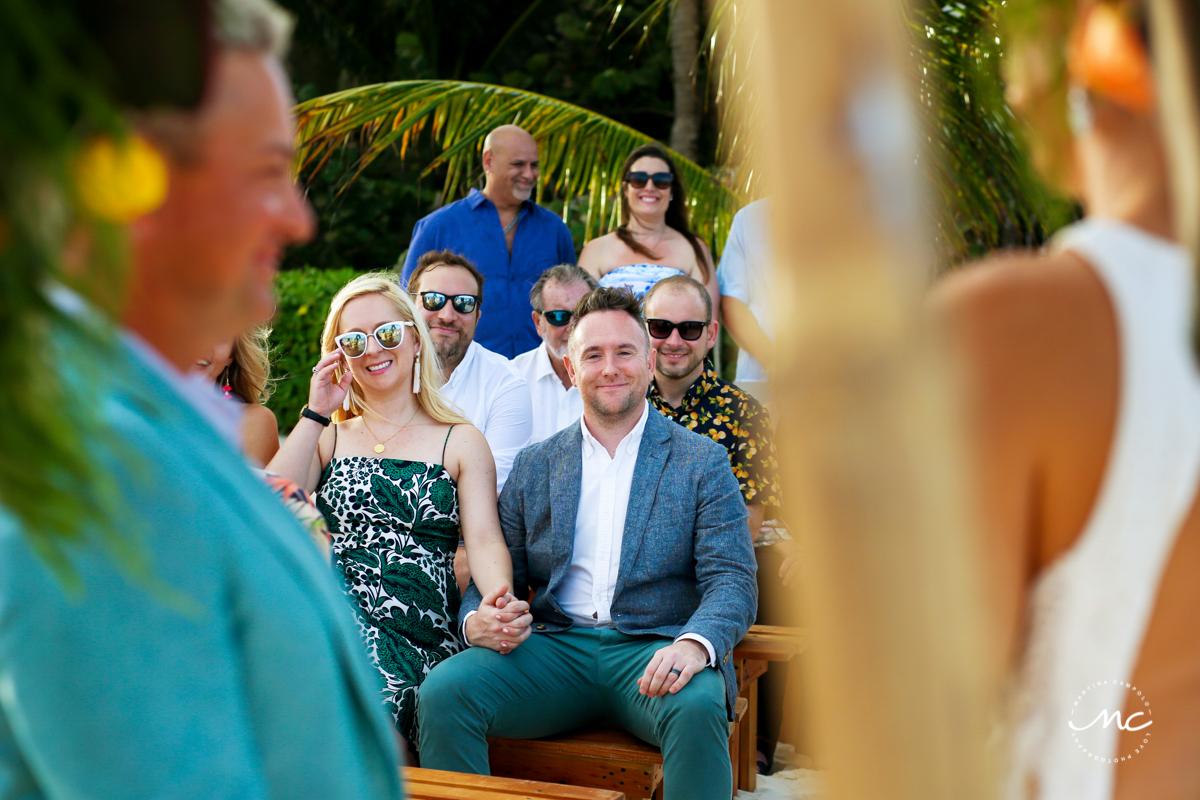 Blue Diamond Luxury Boutique Hotel Beach Wedding in Mexico. Martina Campolo Photography