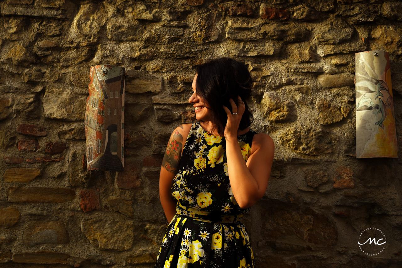 Engaged at Castello di Trisobbio Italy. Martina Campolo Photography