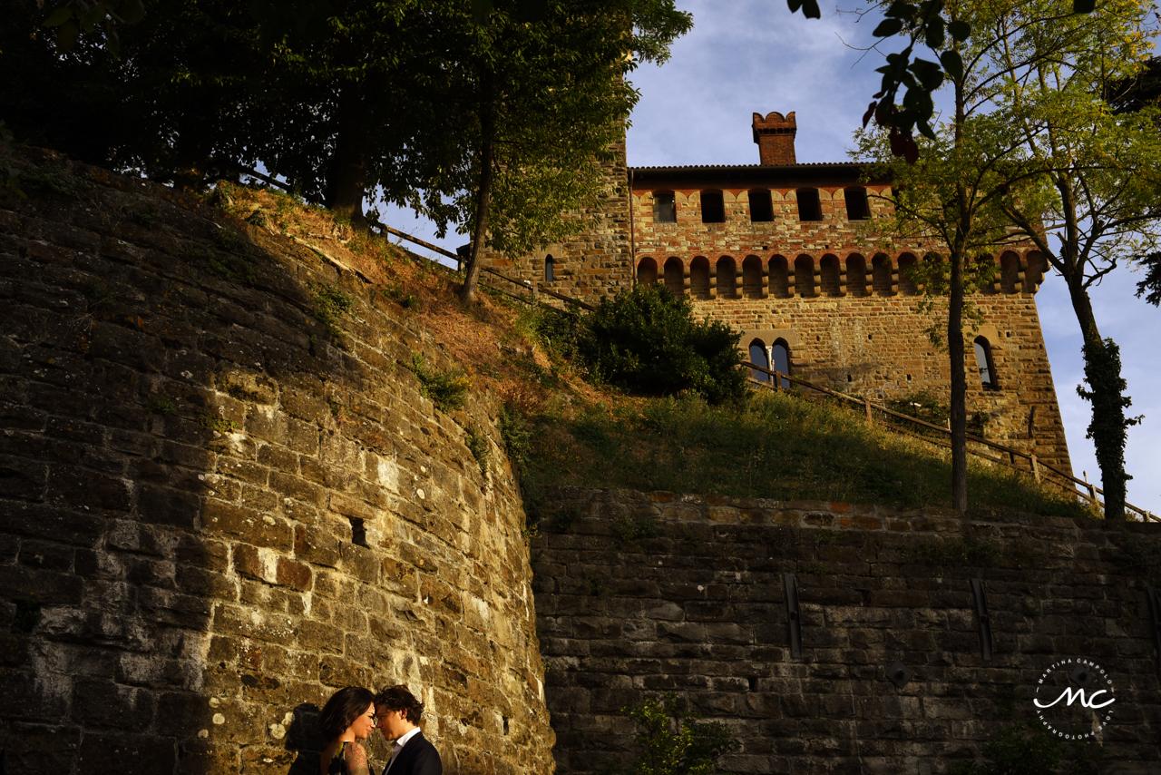 Castello di Trisobbio Engagement. Martina Campolo Photography