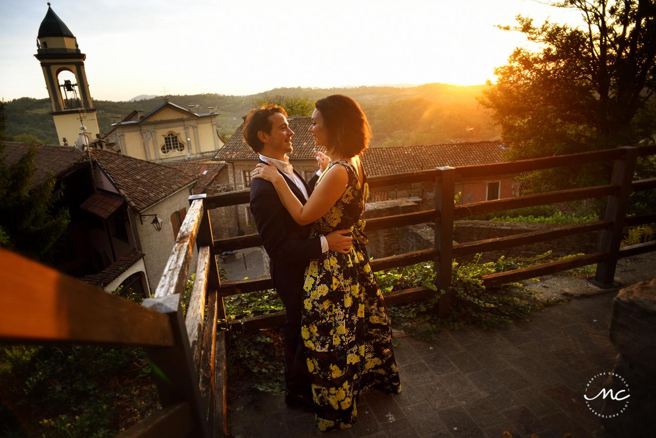 Sunset Portraits at Castello di Trisobbio Italy. Martina Campolo Photography