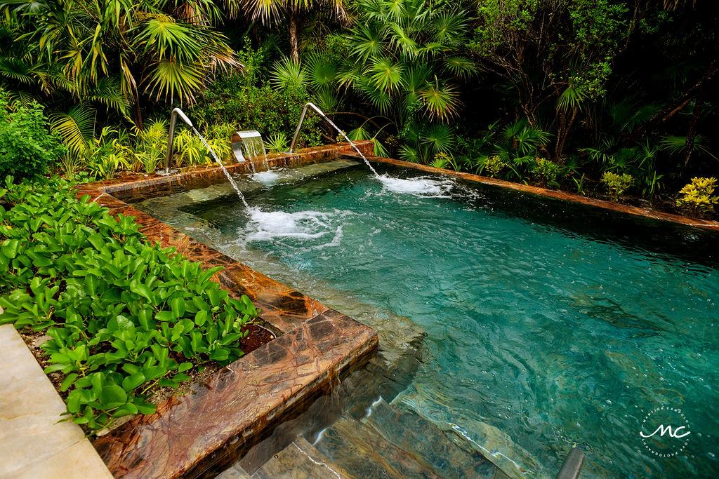 Hydrotherapy at Chable Maroma, Riviera Maya, Mexico. Martina Campolo Photography