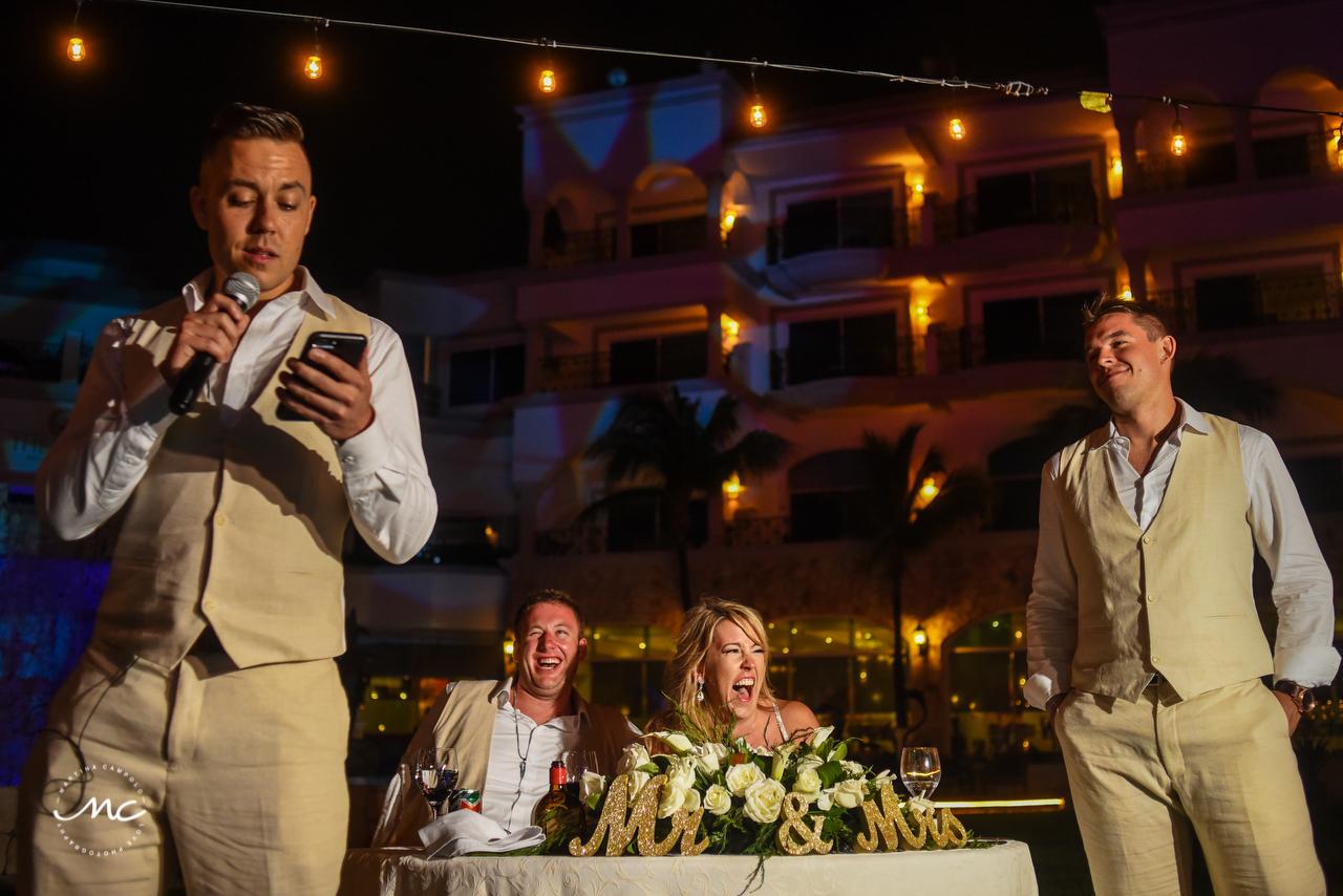 The Royal Playa del Carmen Wedding Reception. Martina Campolo Photography
