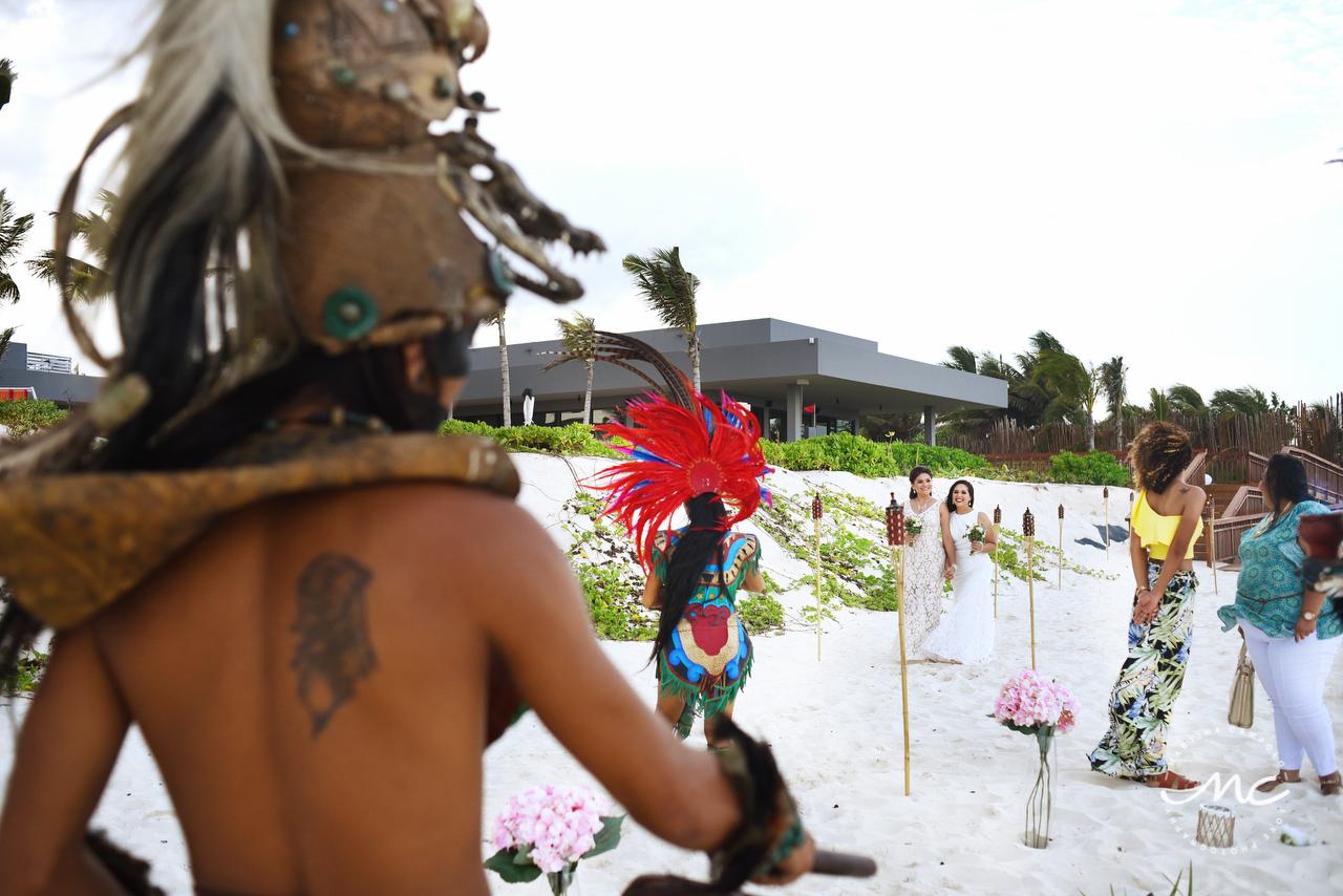 Andaz Mayakoba Destination Wedding. Riviera Maya, Mexico. Martina Campolo Photography