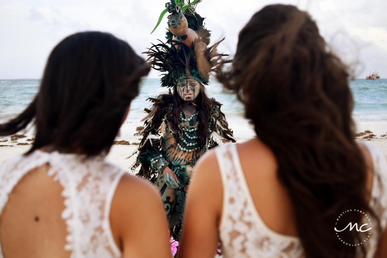 Same Sex Wedding at Andaz Mayakoba, Riviera Maya, MX. Martina Campolo Photography