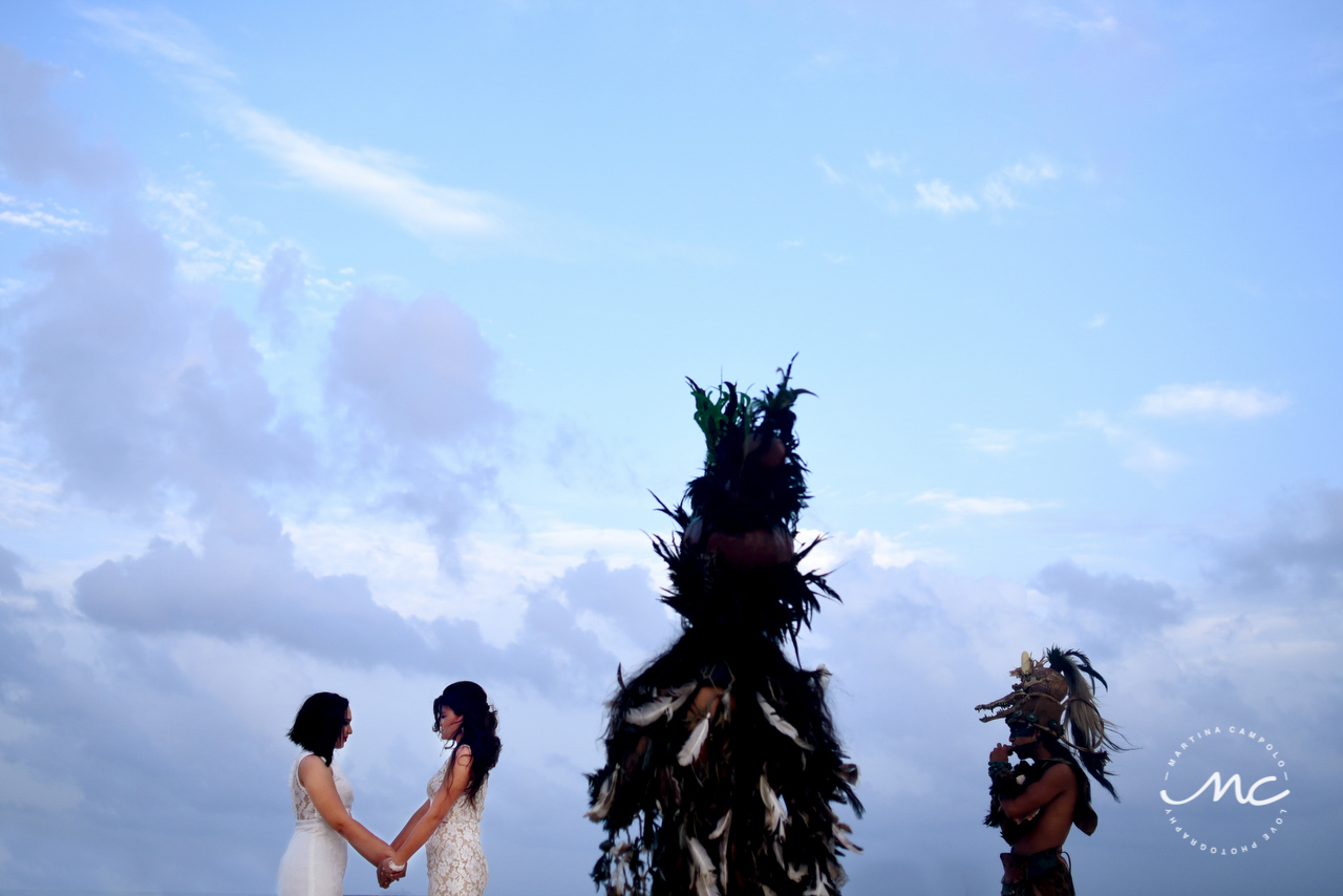 Gay Destination Wedding at Andaz Mayakoba, Riviera Maya. Martina Campolo Photography