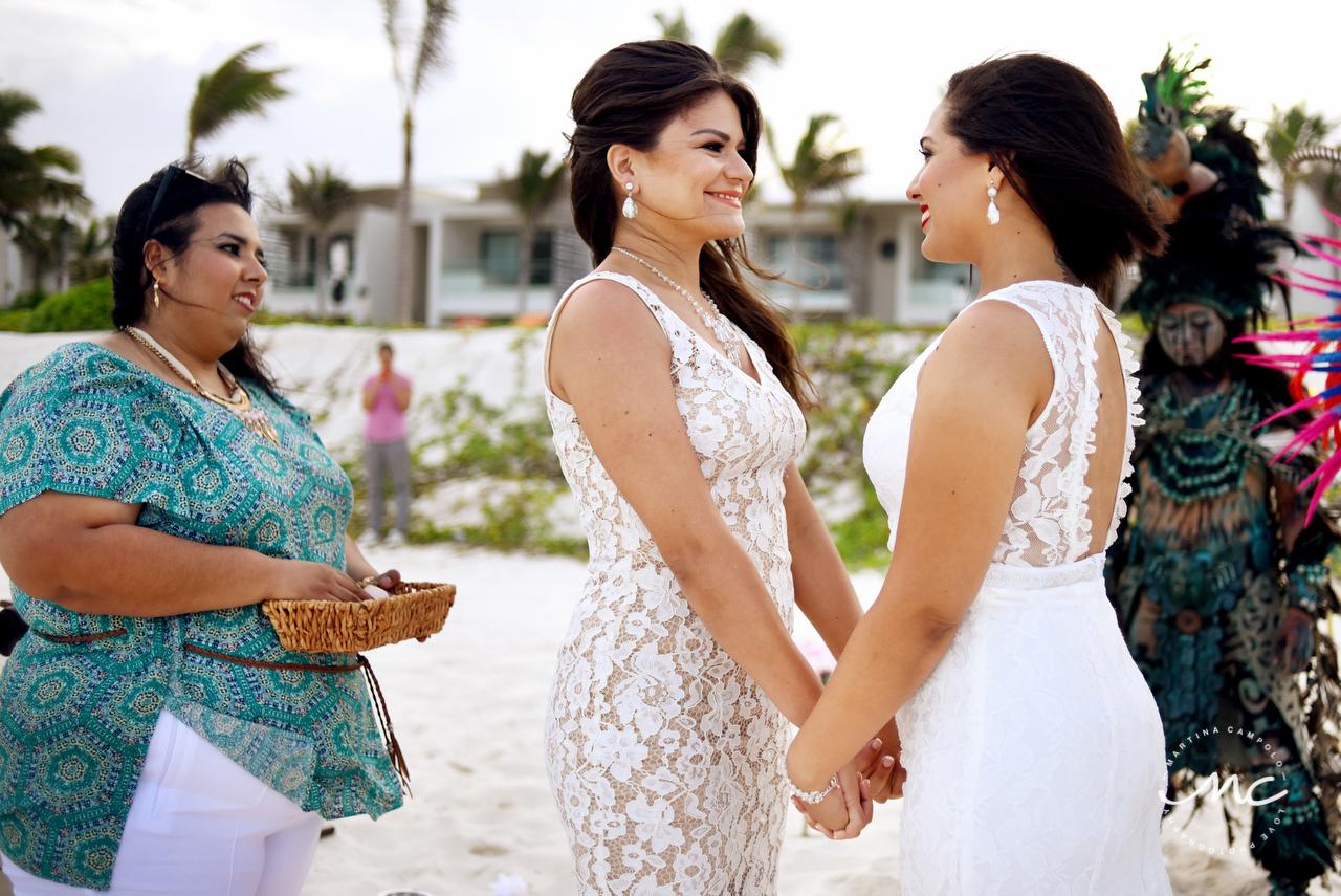 Gay Destination Wedding at Andaz Mayakoba, Riviera Maya. Martina Campolo Photography