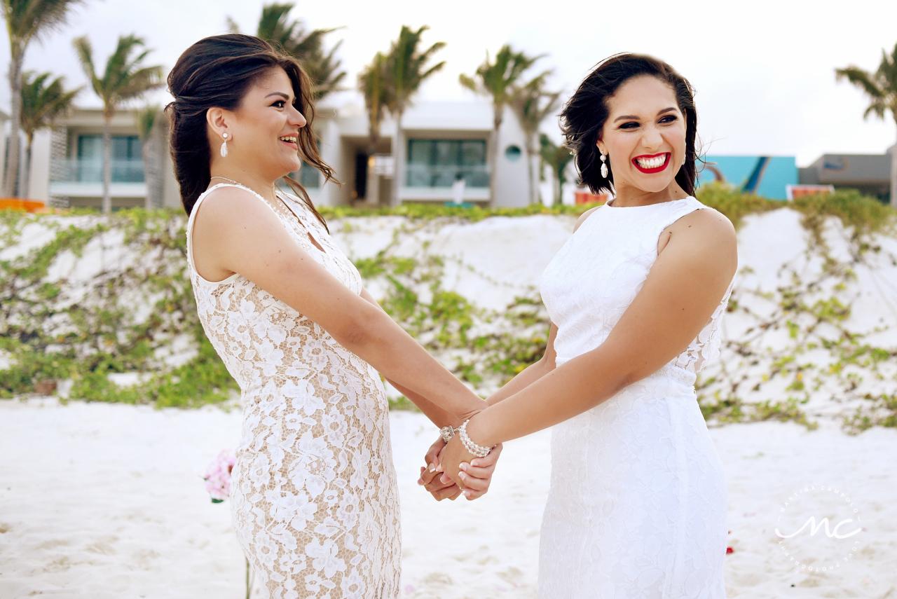 Andaz Mayakoba Same Sex Wedding by Martina Campolo Photography