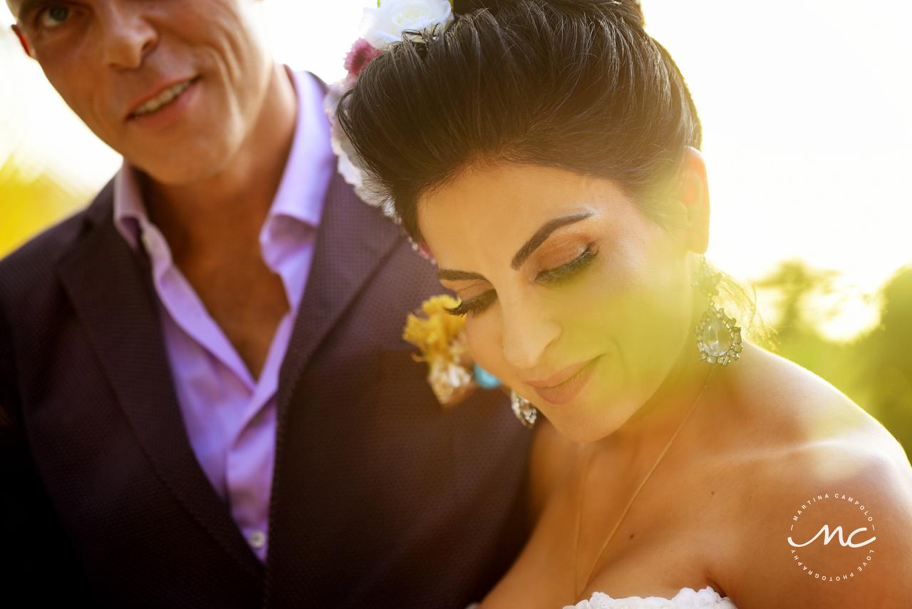 Sol Tamargo Wedding in Puerto Aventuras, Mexico by Martina Campolo Photography