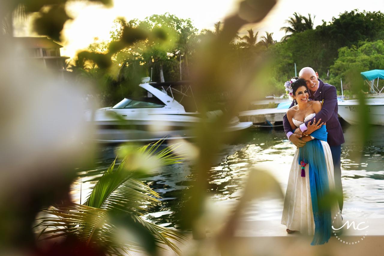 Mexican wedding in Puerto Aventuras, Mexico. Martina Campolo Photography