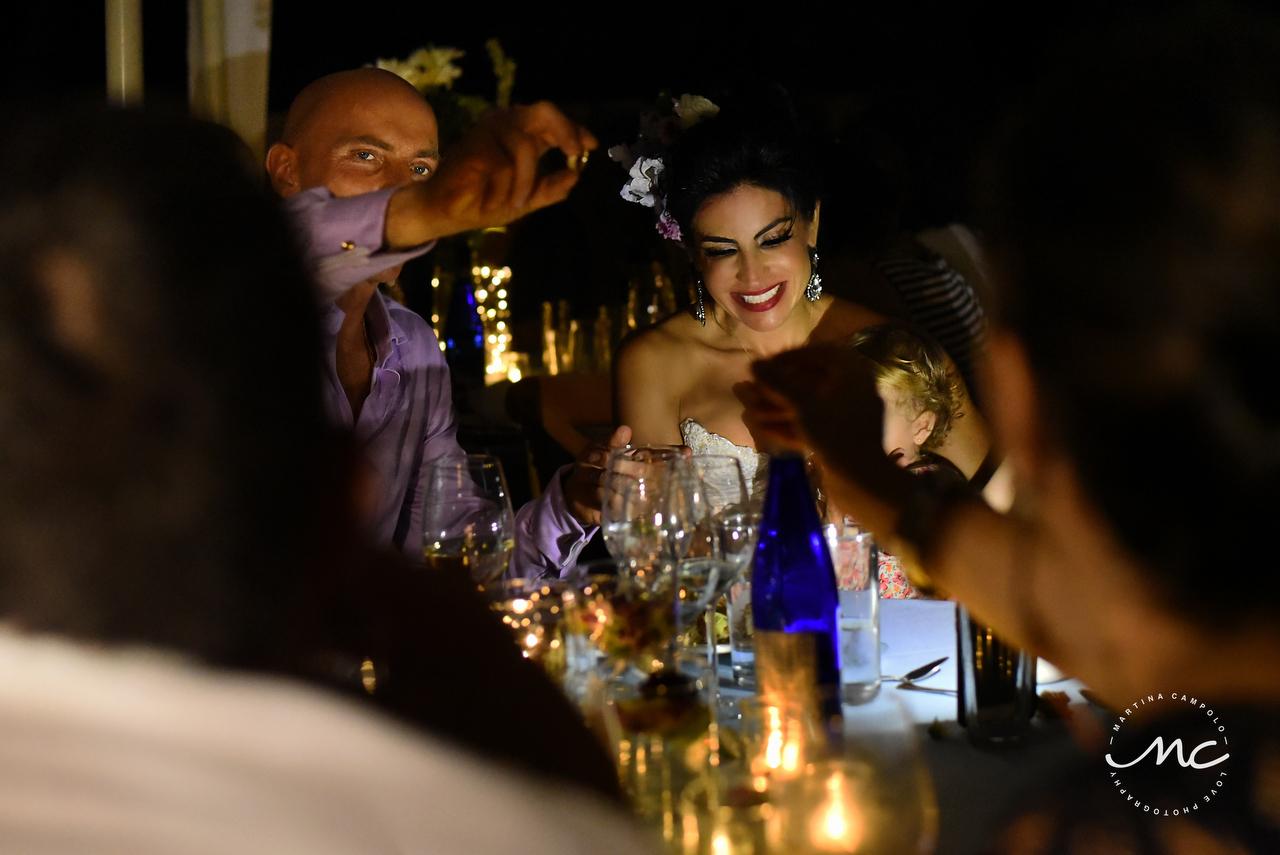 Intimate Mexican Villa Destination Wedding in Puerto Aventuras, Mexico