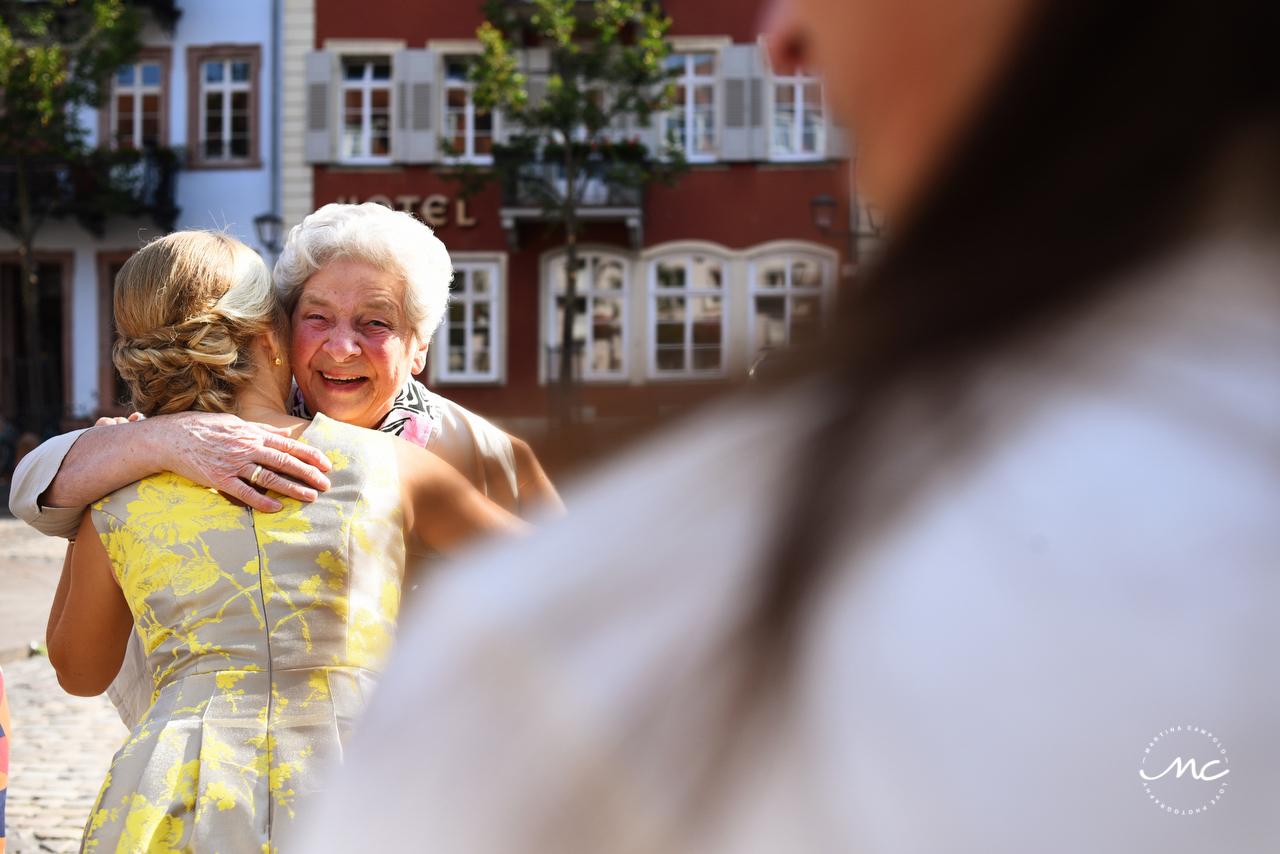 Bride and grandma moment. Heildelberg Wedding by Martina Campolo Photography