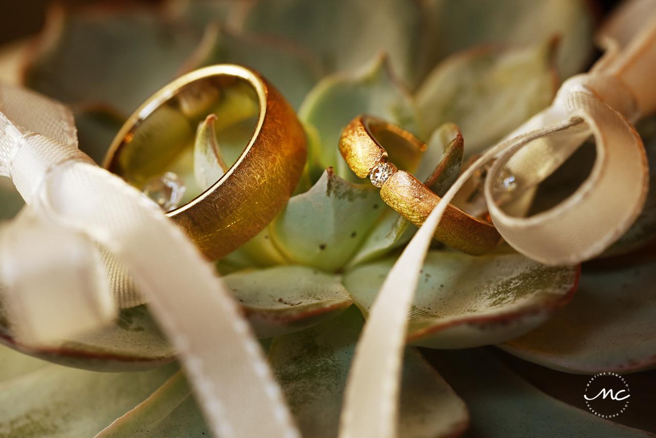 Ring Shot. German Wedding in Heidelberg Castle. Martina Campolo Photography