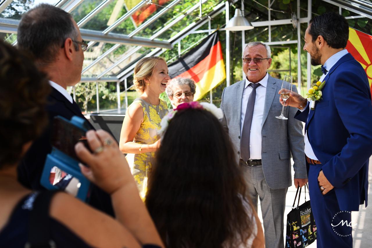 Intimate German Wedding at Heidelberg Castle. Martina Campolo Photography