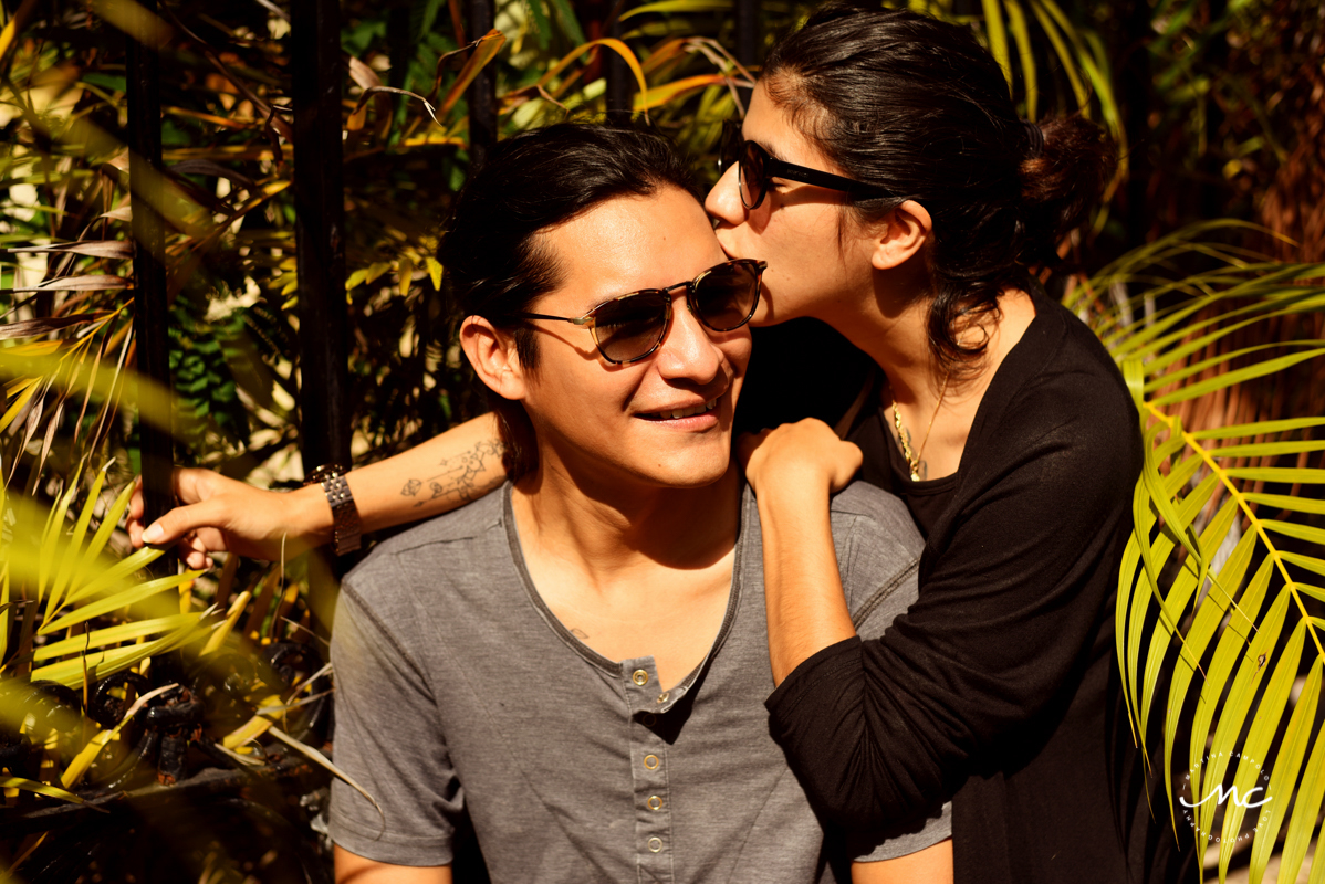 Couples Portraits in Merida, Yucatan, Mexico by Martina Campolo Photography