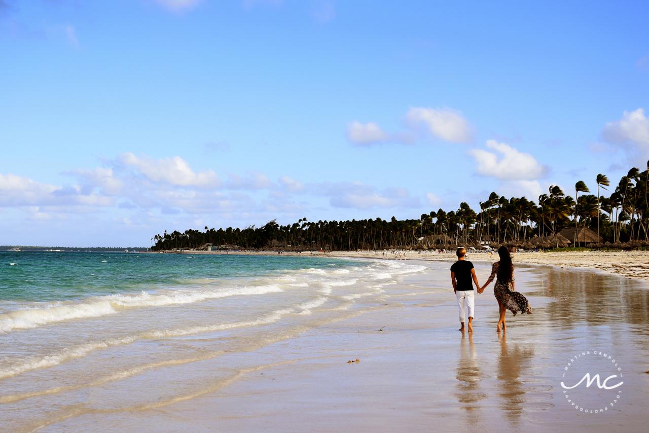 Engagement Session at Paradisus Palma Real, Punta Cana, DR. Martina Campolo Photography