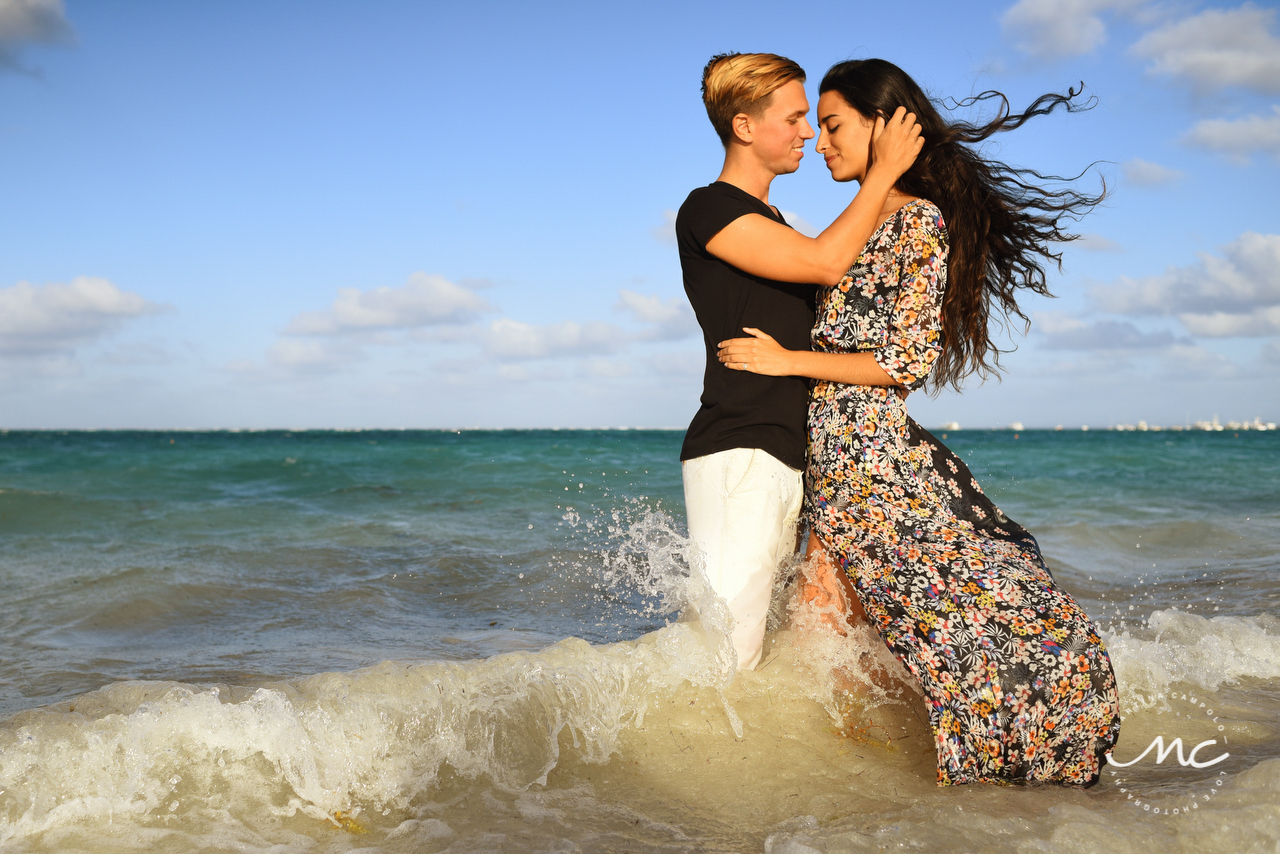 Couple beach portraits in Punta Cana by Martina Campolo Dominican Republic Photographer