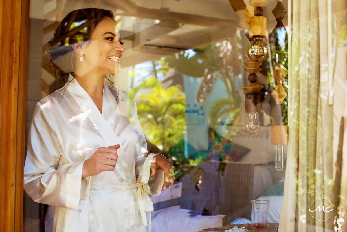 Mahekal Beach Destination Wedding in Mexico by Martina Campolo Photography