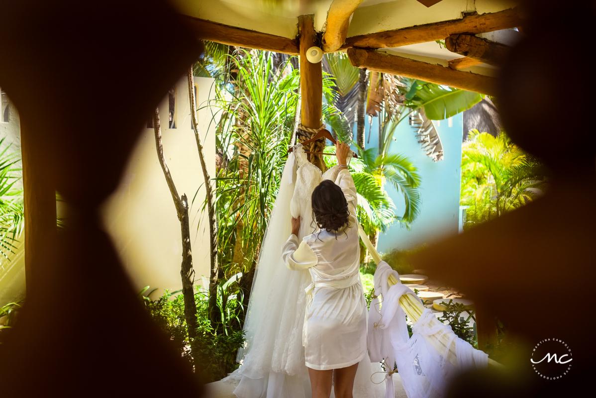 Mahekal Beach Resort Wedding in Riviera Maya, Mexico. Martina Campolo Photography