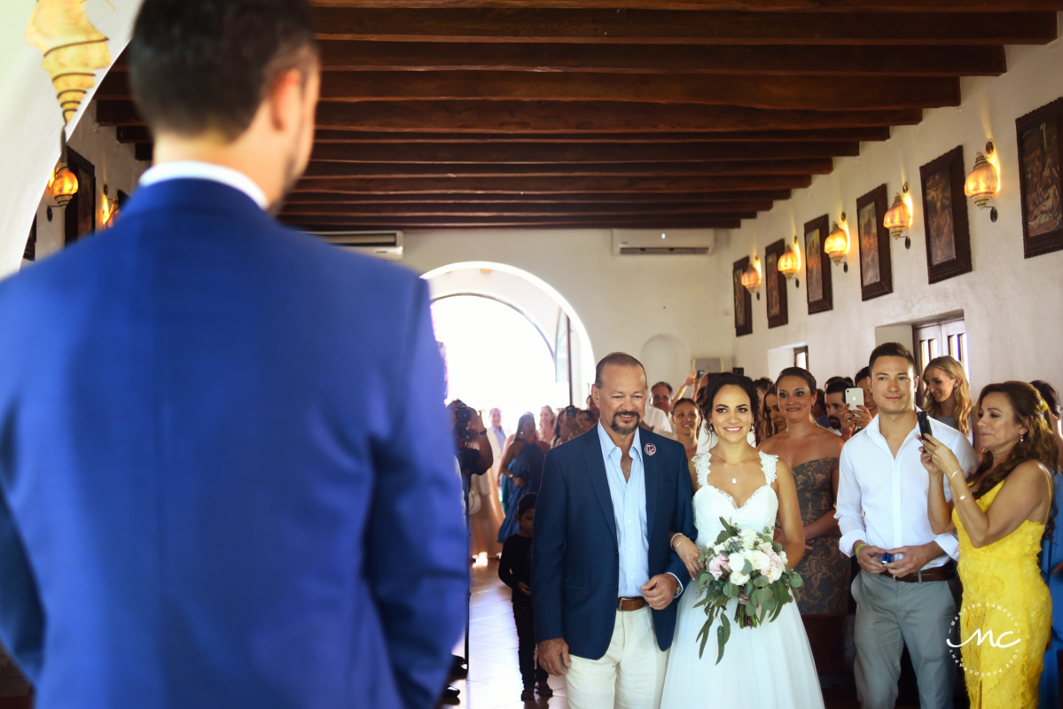 Playa del Carmen Church Wedding by Martina Campolo Mexico WeddingPhotography