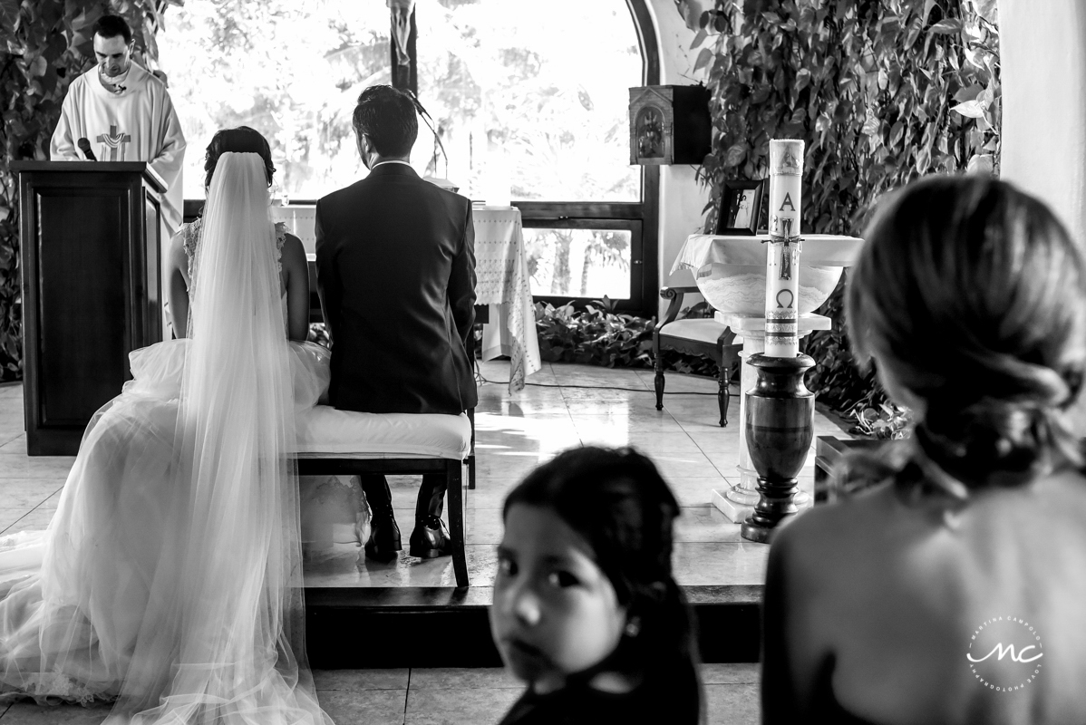 Nuestra Señora del Carmen Wedding in Playa del Carmen. Martina Campolo Photography