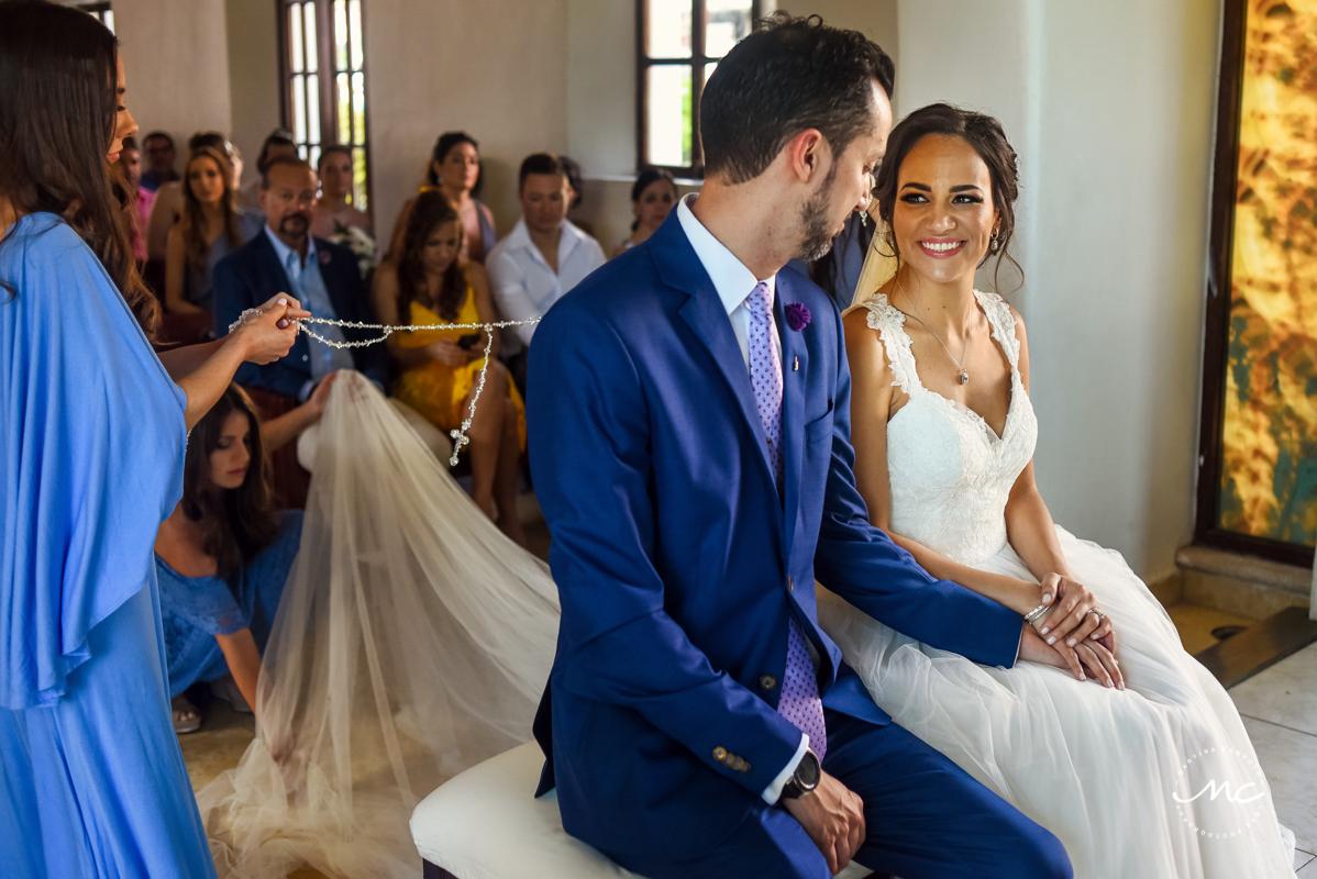 Catholic wedding in Playa del Carmen, Mexico by Martina Campolo Photography