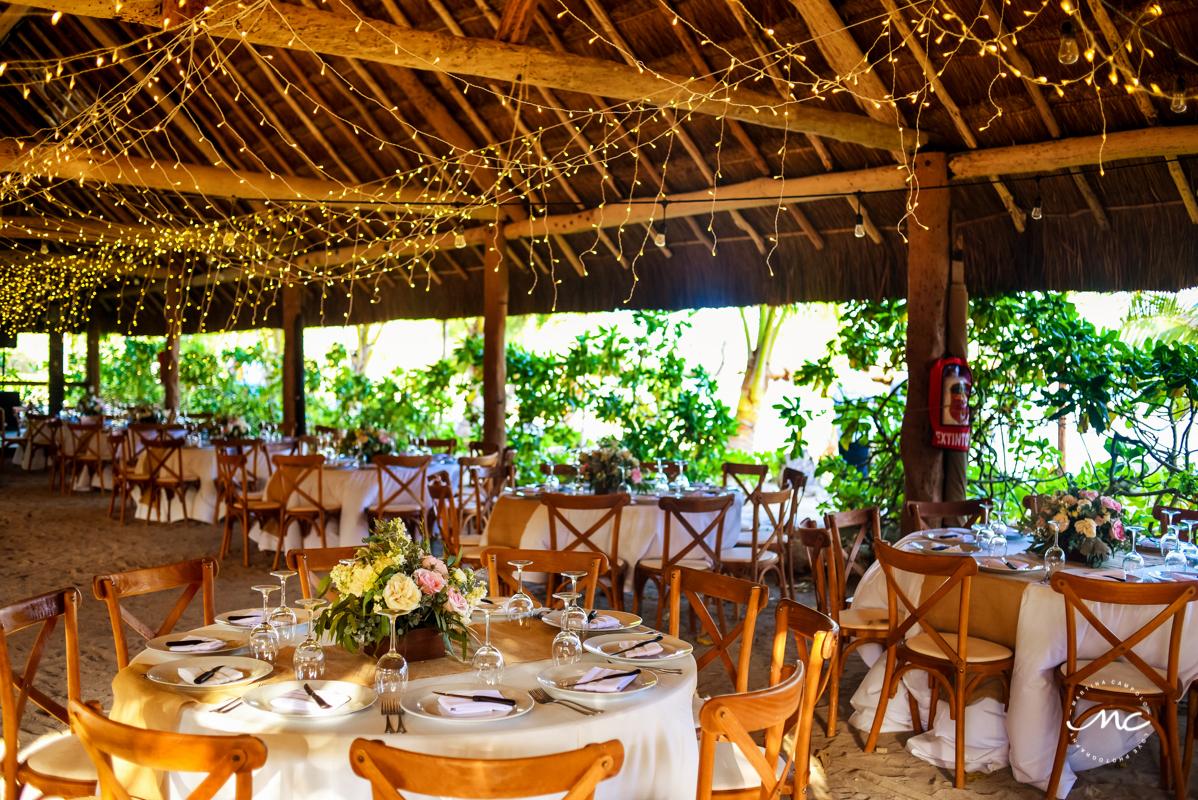 Blue Venado Wedding Reception Venue in Playa del Carmen, Mexico. Martina Campolo Photography
