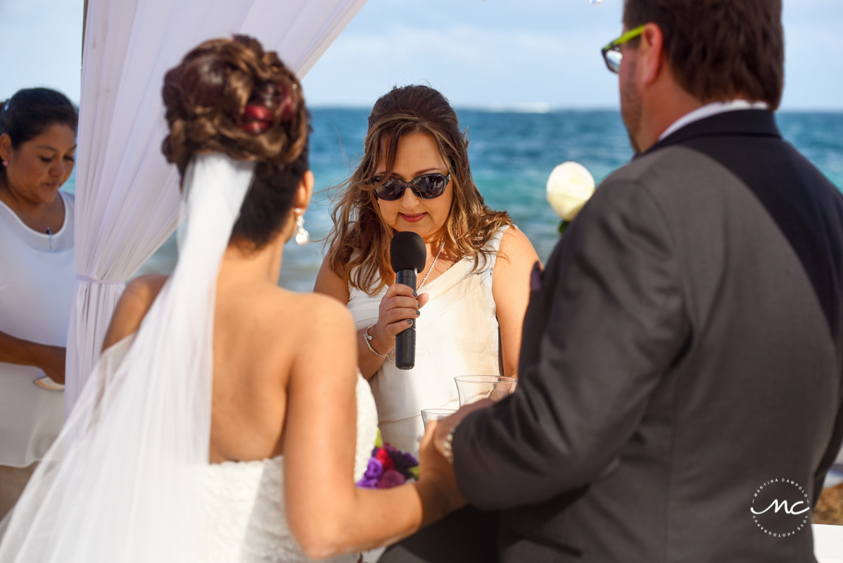 Now Sapphire Riviera Cancun wedding by Martina Campolo Photography in Mexico