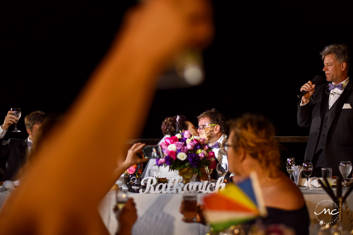 Wedding reception moment. Martina Campolo Now Sapphire Wedding Photography