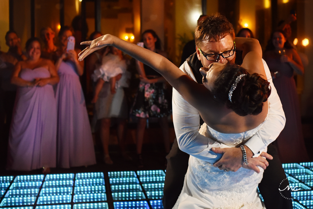First dance moment at Now Sapphire Riviera Cancun, Mexico. Martina Campolo Photography