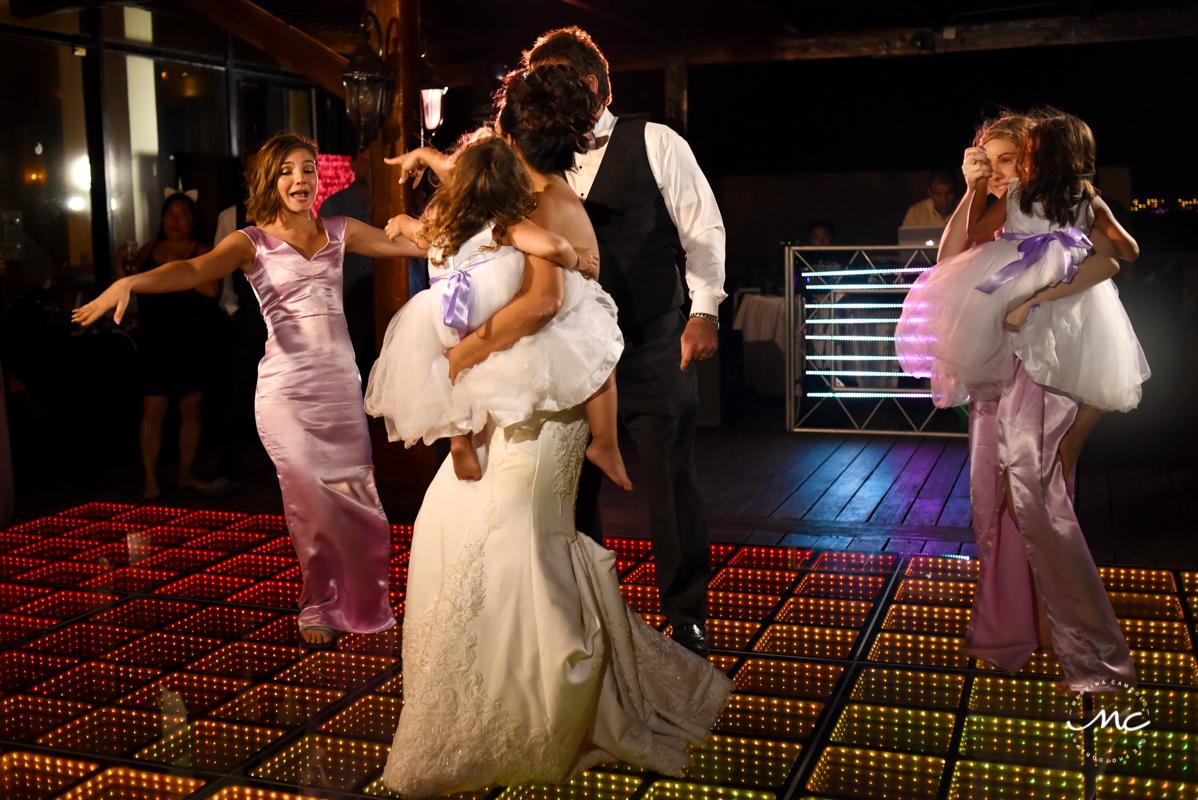 Destination wedding at Now Sapphire Riviera Cancun, Mexico. Martina Campolo Photography