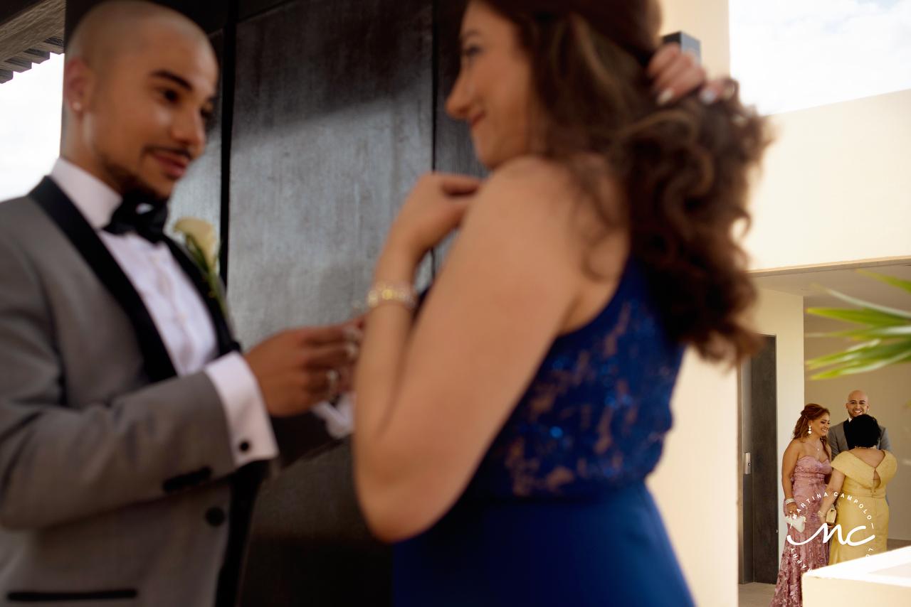 Royalton Riviera Cancun LGBT Wedding. Martina Campolo Mexico Wedding Photography