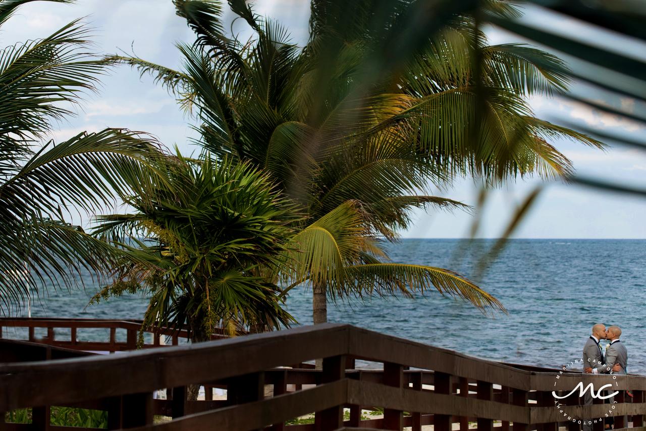 Gay Destination Wedding at Royalton Riviera Cancun, Mexico. Martina Campolo Photography
