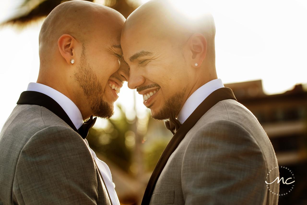 Gay Destination Wedding at Royalton Riviera Cancun. Martina Campolo Photography