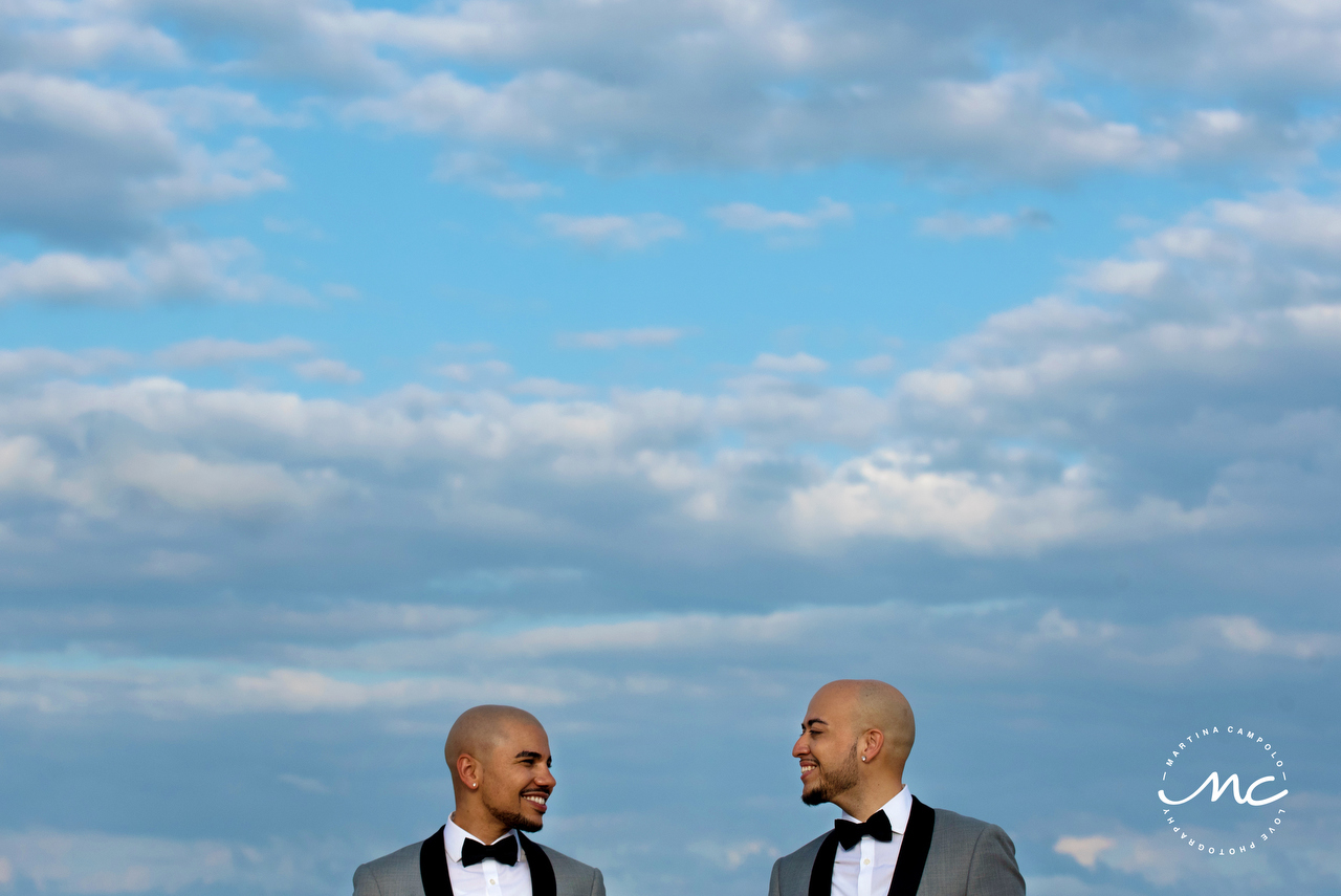Gay Destination Wedding at Royalton Riviera Cancun. Martina Campolo Photography