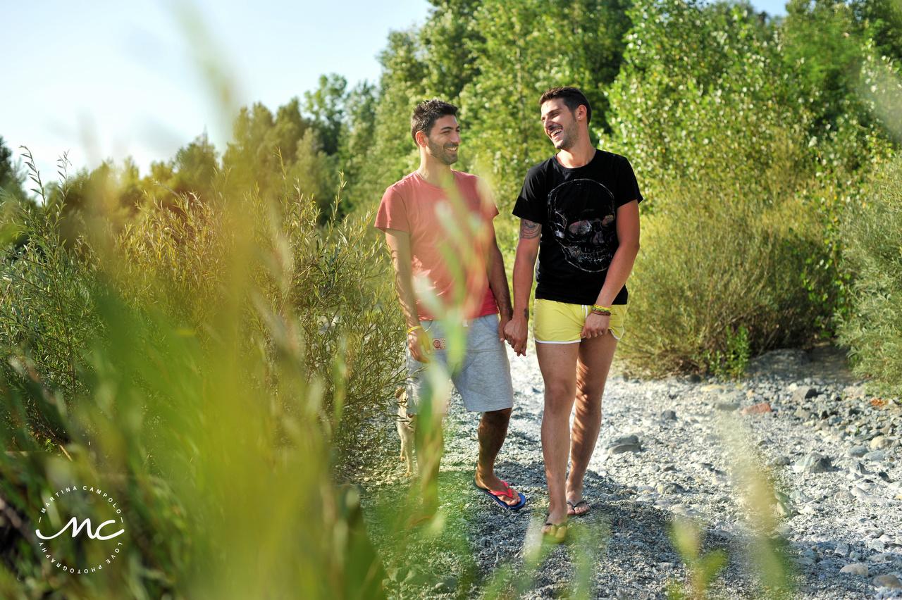 LGBTQ Engagement Portraits. Cinque Terre, Italy. Martina Campolo Photographer